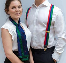 Корпоративные аксессуары- шарфы, галстуки, подтяжки