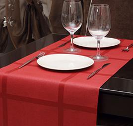 Текстильные дорожки для ресторанов. Пошив столового текстиля на заказ