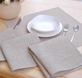 Скатерти и салфетки для ресторанов на заказ