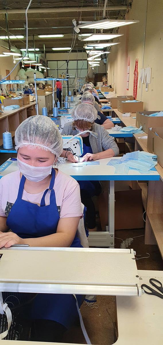 Защитная спецодежда и медицинские маски от производителя