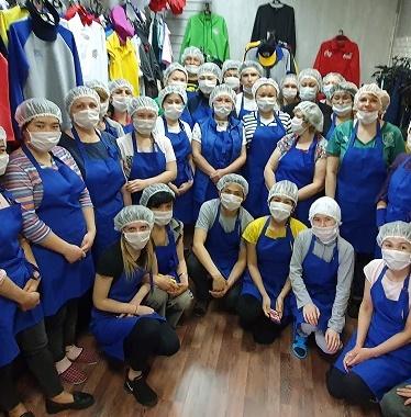 Производство медицинских масок в Москве