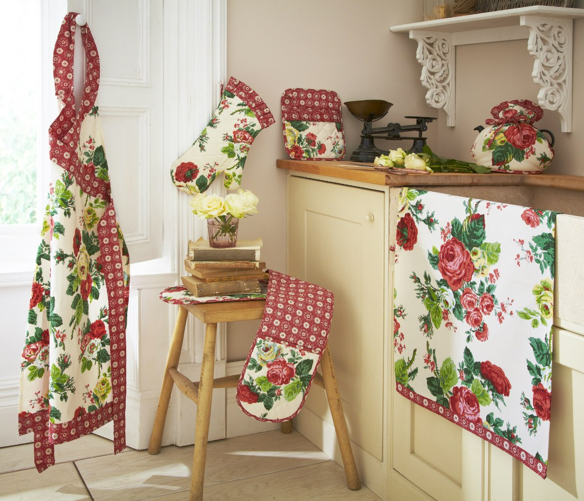 Текстиль своими руками на кухне